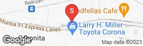 Location of Storage Direct Corona in google street view