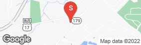 Location of Shallotte Storage Space in google street view