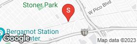 Location of A-American Self Storage - West La in google street view