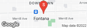 Location of Storage Direct Fontana in google street view