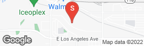 Location of West Simi Lock-Up Self Storage in google street view