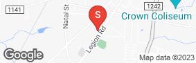 Location of Legion Self Storage in google street view