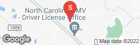 Location of All About Storage - Fowler in google street view