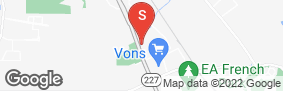 Location of Derrel's Mini Storage Inc in google street view