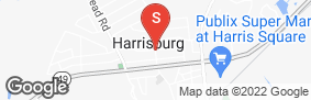 Location of Harrisburg Speedway Storage in google street view