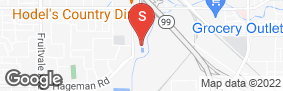 Location of Olive Drive Self Storage in google street view