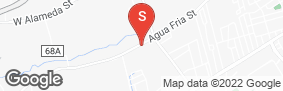 Location of Santa Fe Self Storage - Agua Fria in google street view