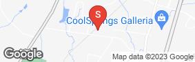 Location of Cool Springs Self Storage in google street view