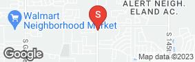 Location of Briarglen Mini Storage in google street view