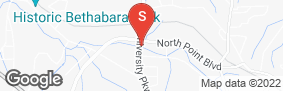 Location of All Pro Self Storage in google street view