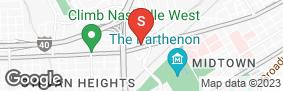 Location of Abbott West Self Storage in google street view