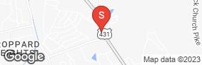 Location of Whites Creek Self Storage in google street view