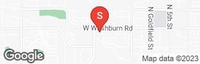 Location of Crown Self Storage in google street view