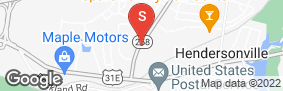 Location of New Shackle Self Storage in google street view