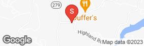 Location of Bella Vista Central Storage in google street view
