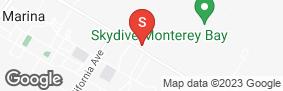 Location of Marina U-Store Self Storage in google street view