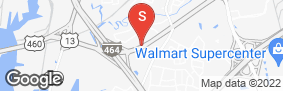 Location of Jack Rabbit Storage - Military Hwy in google street view