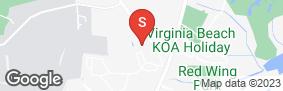 Location of Allsafe Self Storage-Oceana Way in google street view