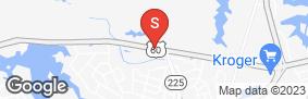 Location of Jack Rabbit Storage - Shore Drive in google street view