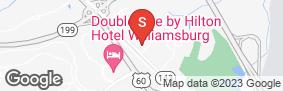 Location of Jack Rabbit Storage - Williamsburg in google street view