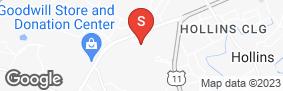 Location of Aaaa Self Storage - Barrens Road in google street view