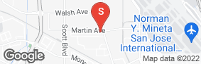 Location of West Coast Self-Storage Santa Clara in google street view