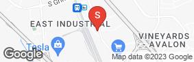Location of Warm Springs Self Storage in google street view
