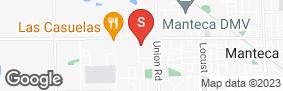 Location of California Self Storage in google street view