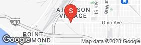 Location of Point Richmond Self Storage in google street view