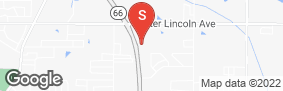 Location of Iron Guard Storage - Newburgh in google street view