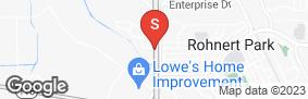 Location of Redwood Self Storage in google street view