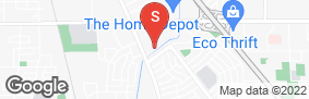 Location of Security Public Storage in google street view