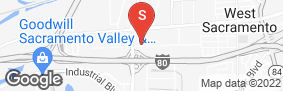 Location of National Self Storage in google street view