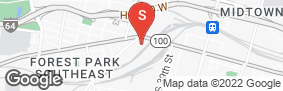 Location of A-American Self Storage - St Louis Midtown in google street view