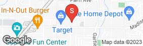 Location of Sentry Storage - Madison/Auburn in google street view