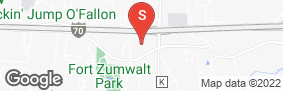 Location of Storco Self Storage o'Fallon in google street view