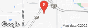Location of I-35/I-435 Self Storage in google street view