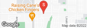 Location of University Storage in google street view