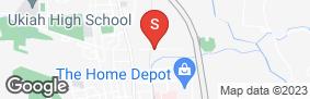 Location of C&M Self Storage in google street view