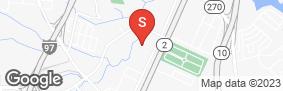 Location of U-Store Self Storage - Glen Burnie in google street view