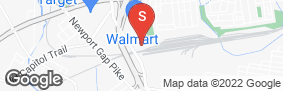 Location of Storage Rentals Of America - Prices Corner # 50 in google street view