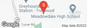 Location of Alpine Storage - Trotwood (Dayton) in google street view