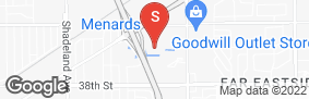 Location of Storage Express in google street view