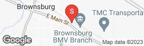 Location of Hoosier Self Storage in google street view
