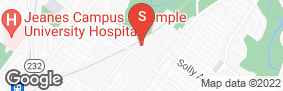 Location of Safeguard Self Storage - Fox Chase in google street view