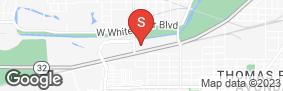 Location of Kilgore Avenue Storage in google street view