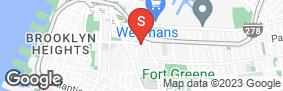 Location of Treasure Island Storage Tillary Street in google street view