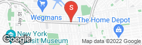 Location of Treasure Island Storage Clinton in google street view
