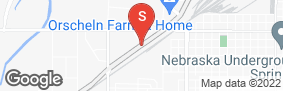 Location of Budget Storage Cornhusker in google street view