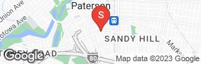 Location of Treasure Island Storage - Paterson in google street view
